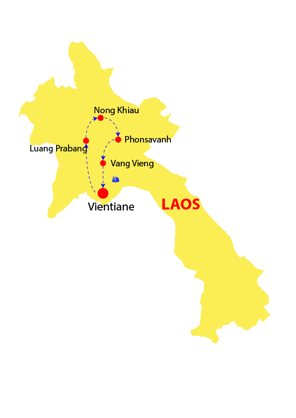 Laos discovery 12 days