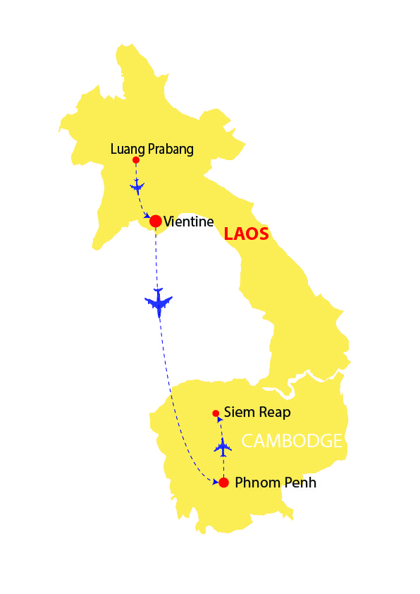 LAOS AND CAMBODIA 13 DAYS
