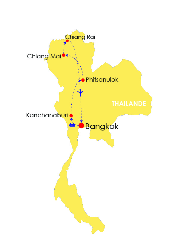 NORTHERN THAILAND DISCOVERY 15 DAYS