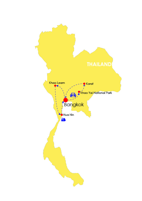THAILAND VACATION 13 DAYS
