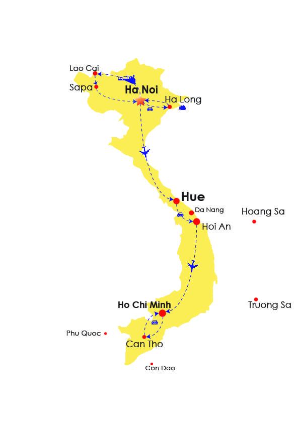 Vietnam Vacation 10 Days